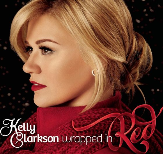 Kelly Clarkson Wrapped In Red