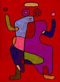 Paul Klee Doodle #drawing