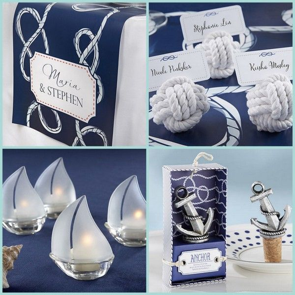 Nautical Themed Events for Wedding, Bridal Shower, or Baby Shower from HotRef.com