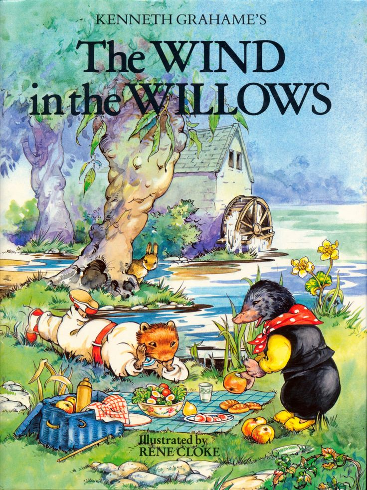 The Wind in the Willows - Kenneth Grahame:  Illustrated Vintage Children's Fairytale Book by TheBusyTipsyGipsy on Etsy