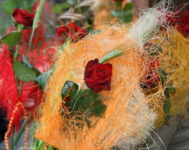 #Sant Jordi Roses in #Barcelona by BCNinternet, via Flickr