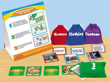 Cultures Around the World Instant Learning Center at Lakeshore Learning $30