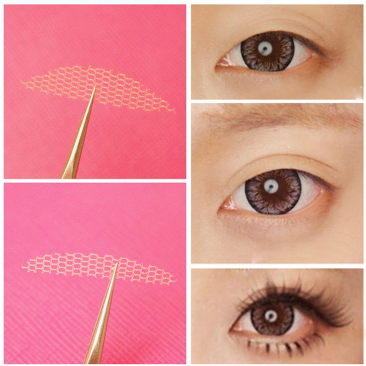 how to wear double eyelid tape
