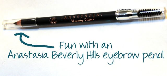 My adventures with an Anastasia Beverly Hills eyebrow pencil