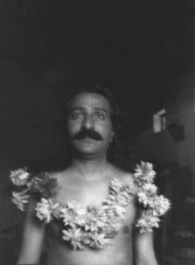 Garlanded by Narayan Maharaj