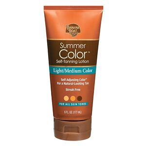 Ok fair skinned ladies- I have had bad experiences with self tanner.. But I'm serious- this is the BEST! Just for a glow..It looks natural, and doesn't streak or smell too strong!! Highly recommended!!