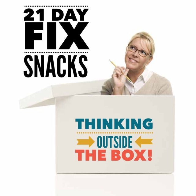 Do you ever get stuck in a rut eating the same snacks day after day? Do you get bored and reach for something not quite on your plan? Need some new ideas to keep on track? Try thinking outsid…