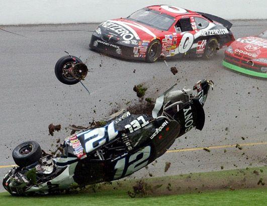 25 NASTY NASCAR CRASHES