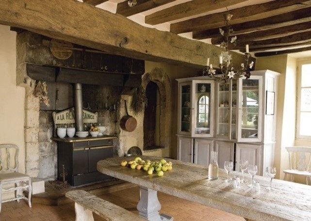 Decoração de cozinhas rústicas. BricoDecoracao.com