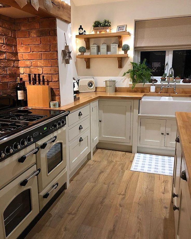 This fantastic kitchen belongs to Louise @ ourlitt…