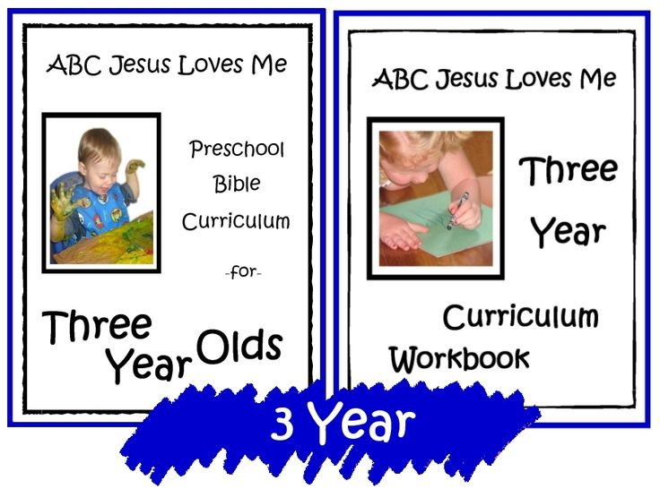 ABC Jesus Loves Me 3 Year Preschool Curriculum - Free for ...