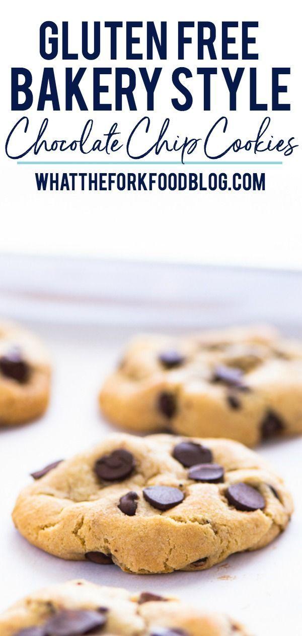 Bakery Style Gluten Free Chocolate Chip Cookies Recipe Gluten