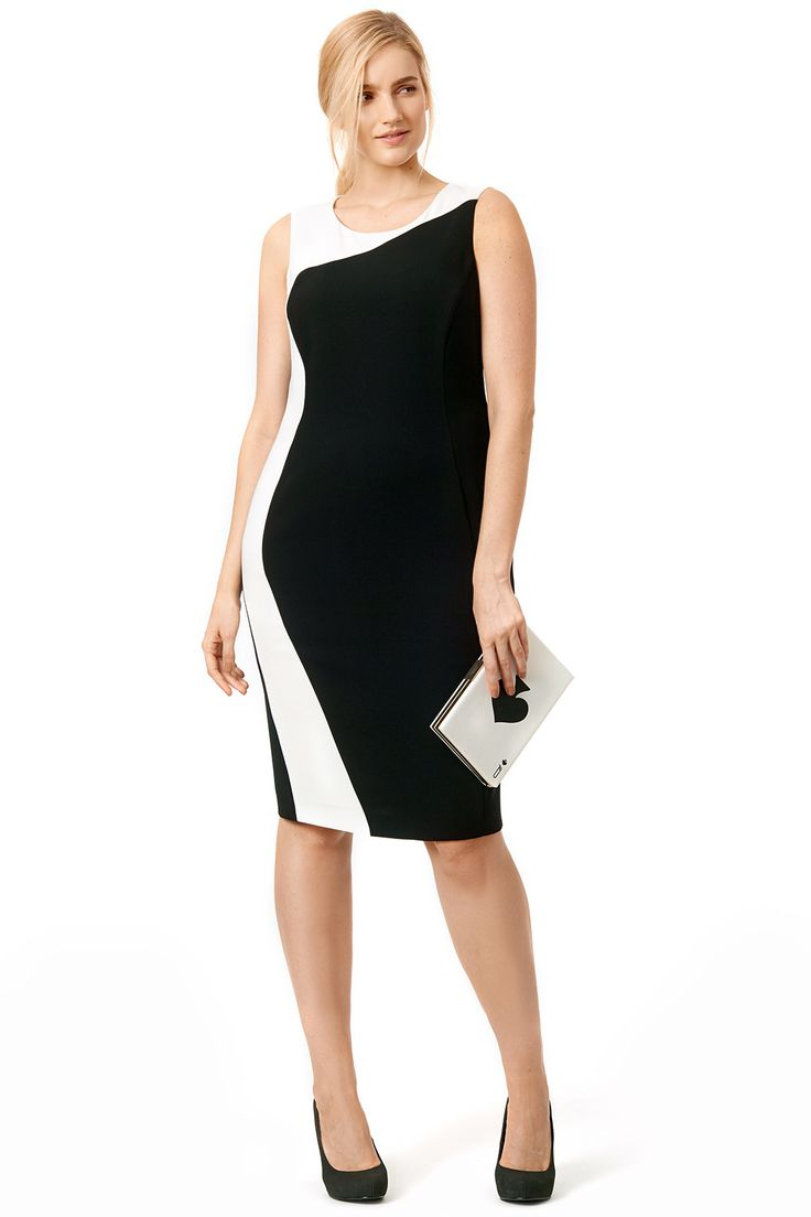 Rent Shadow Sheath by Marina Rinaldi for $105 only at Rent the Runway.