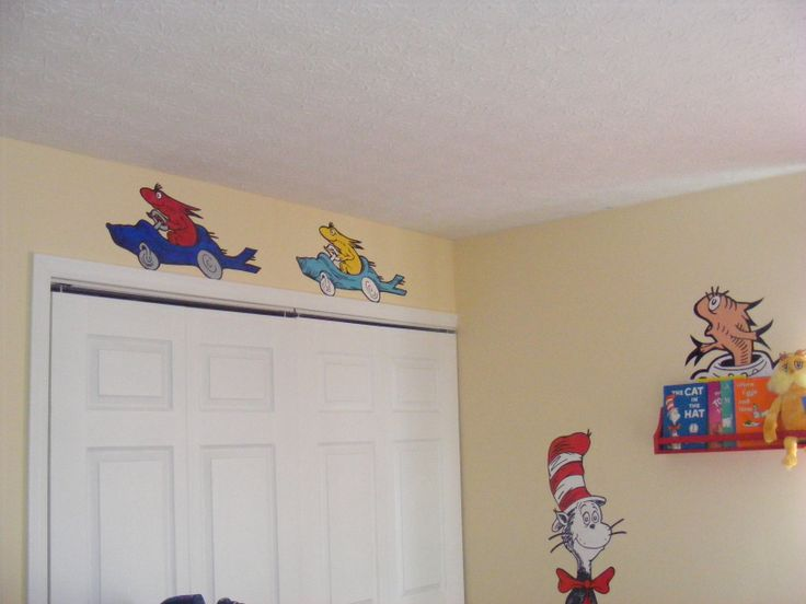 17 best images about murals prices dr seuss murals on for Dr seuss wall mural