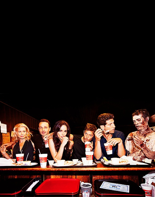 The Walking Dead cast, love this picture!