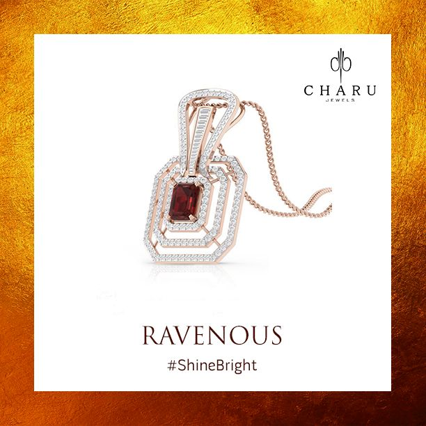 Diamonds are always to the rescue when you are hungry for royalty and simplicity. #Jewellery #Jewels #CharuJewels