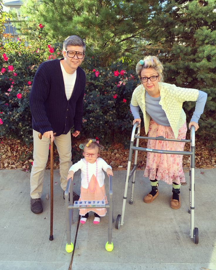 Toddler Costume // Little Old Lady //  Family Costume