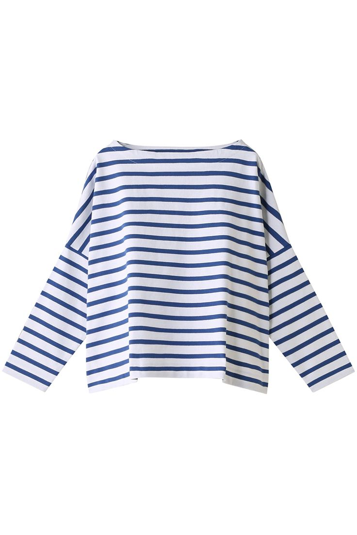 ビッグマリンボートネックシャツ(ナローピッチ) トラディショナルウェザーウェア/Traditional Weatherwear