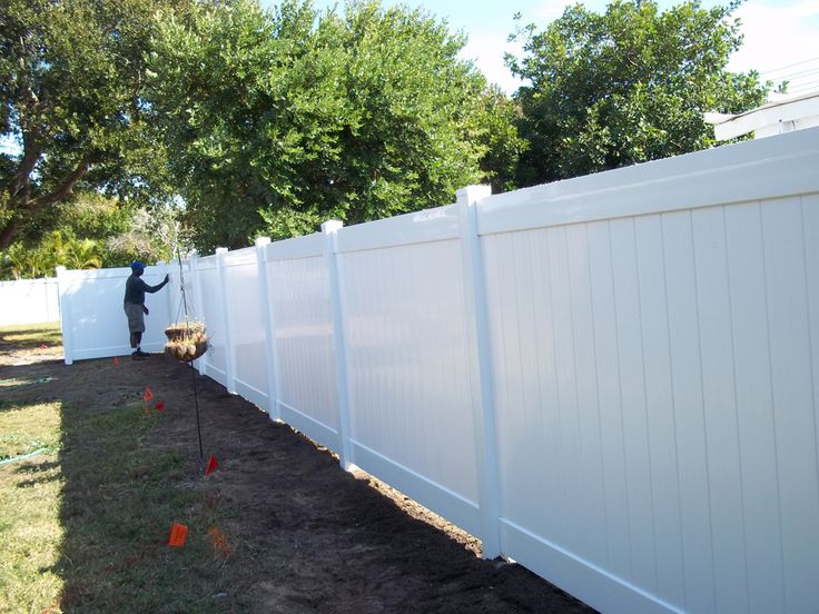 Most Affordable Fence Material Pvc Fence With Wood Garden