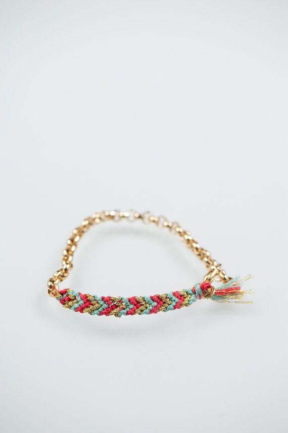 Pinky Swear bfrend bracelet friendship bracelet by doctorscloset