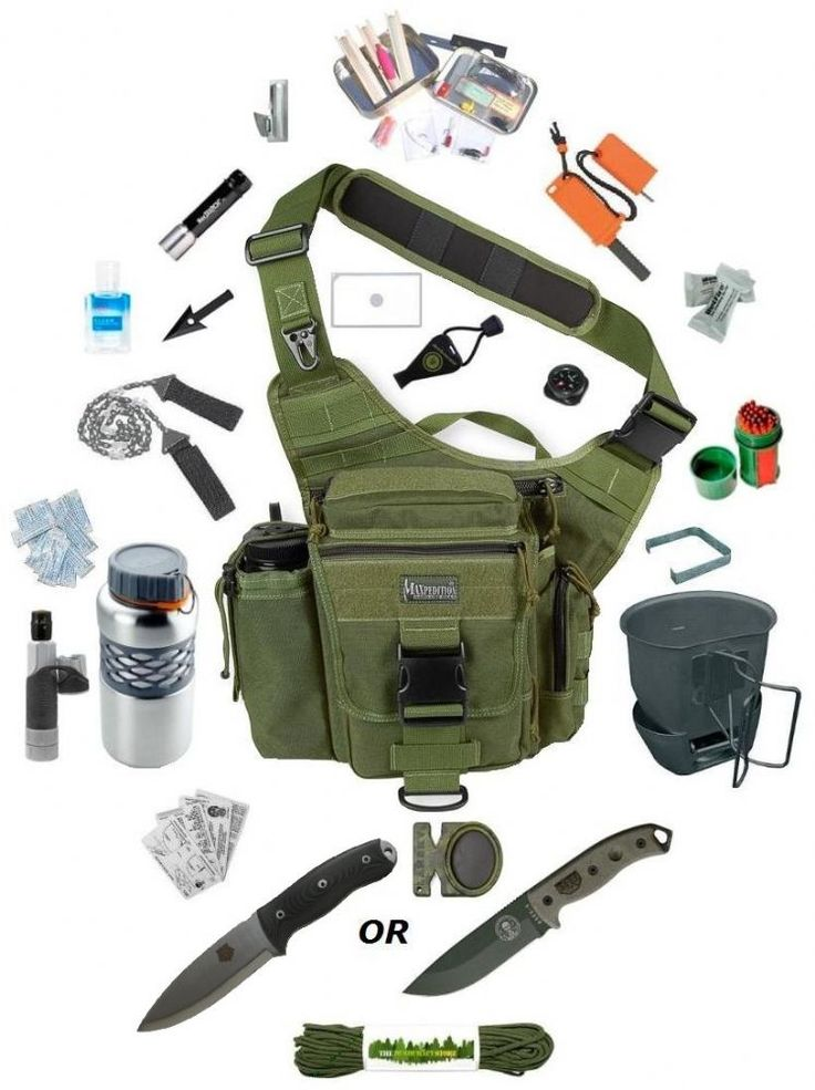 The Survival Stores Maxpedition Versipack De-Luxe Go Bag - The Ultimate Survival Kit