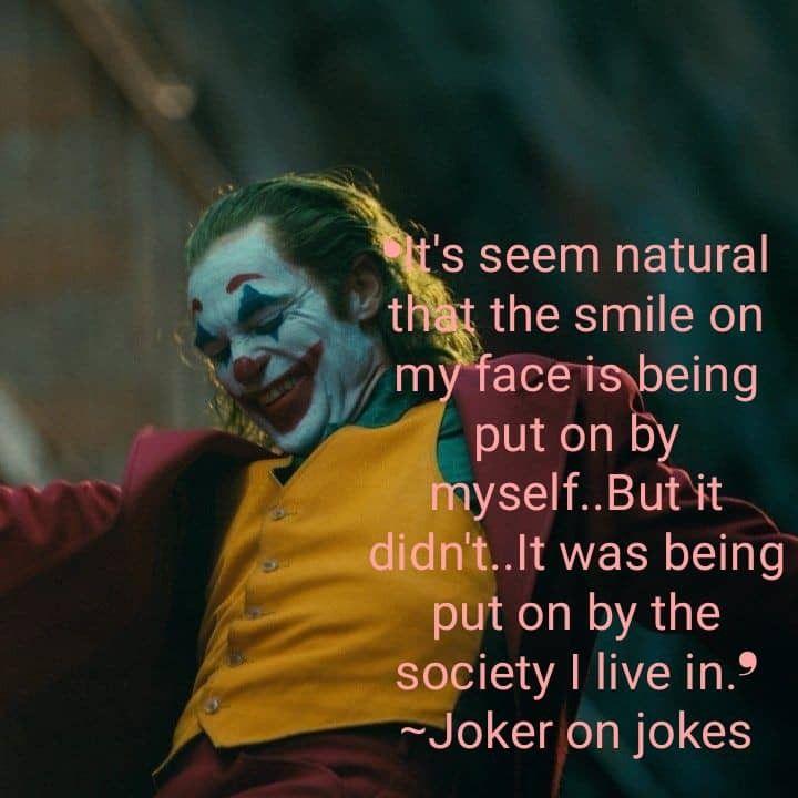 joker joaquin phoenix dc comic joker quote mad society
