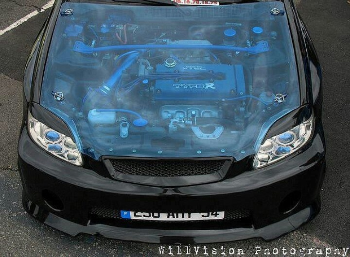 1996 Honda Accord Lx >> Clear blue hood. | Projects to Try | 2000 honda civic ...