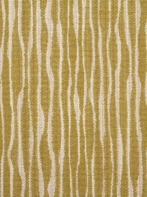 A modern upholstery fabric in an abstract design of lemongrass and ivory. This is a durable mid-weight upholstery fabric suitable for heavy use