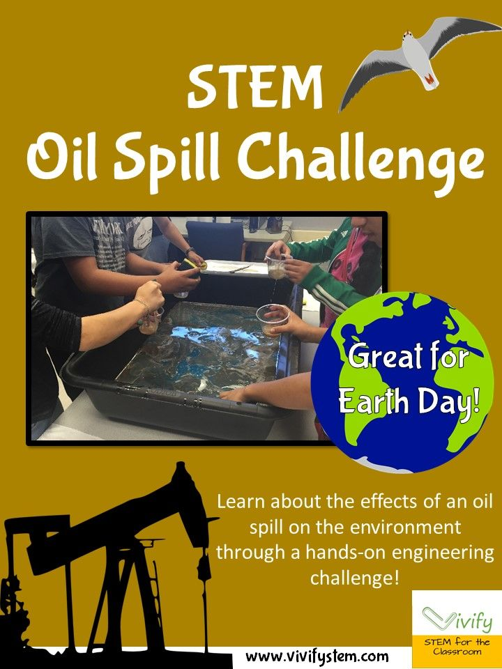 Learn about the effects of an oil spill on the environment through a hands-on engineering challenge! Great for Earth Day! Math extension problems are provided including measurement, percentages, volume calculations, and more. The goal of this challenge is to clean up all of the oil from the feathers and from the water in the time provided. The learning objective is to increase understanding of an oil spill disaster and the environmental consequences.