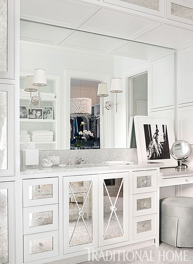Stunning vanity | Traditional Home