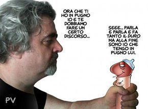 """""""Il Mondo in una vignetta"""" di PV - Pietro Vanessi: C'e' un Picio, tutto solo, al comando..."""