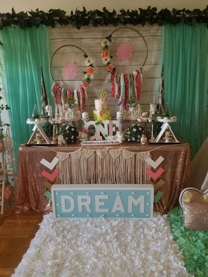 Dream Catcher Birthday Party Ideas In 2019 Kenlynn S