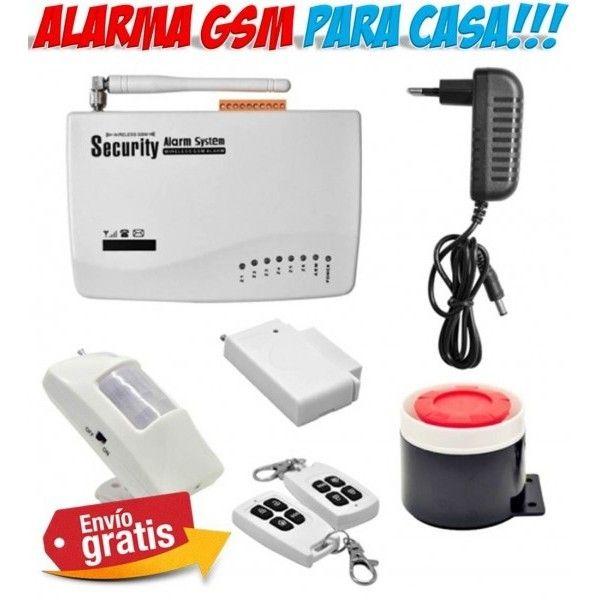 Electronica del hogar. Alarmas para casa con tecnologia GSM que avisa al telefono movil.