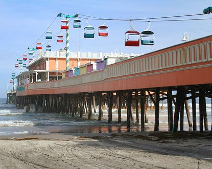 Daytona Beach Boardwalk is back open now with a Joe's Crab Shack. Will hit this spot this week.