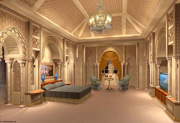 Moroccan Bedroom Home New Swan Castle Linderhof Palace