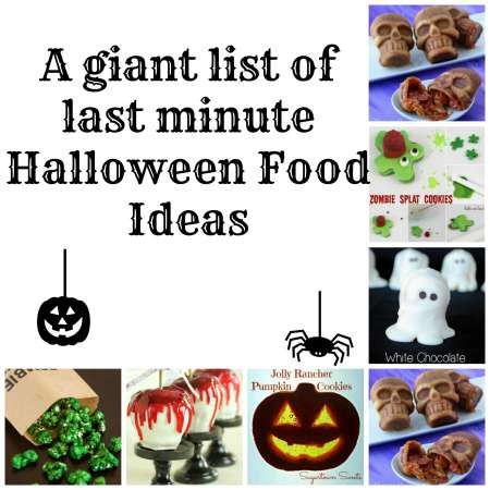 17 best images about halloween party ideas on pinterest for Last minute party food