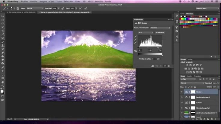 Photoshop, como usar las mascaras de capa - Tutorial