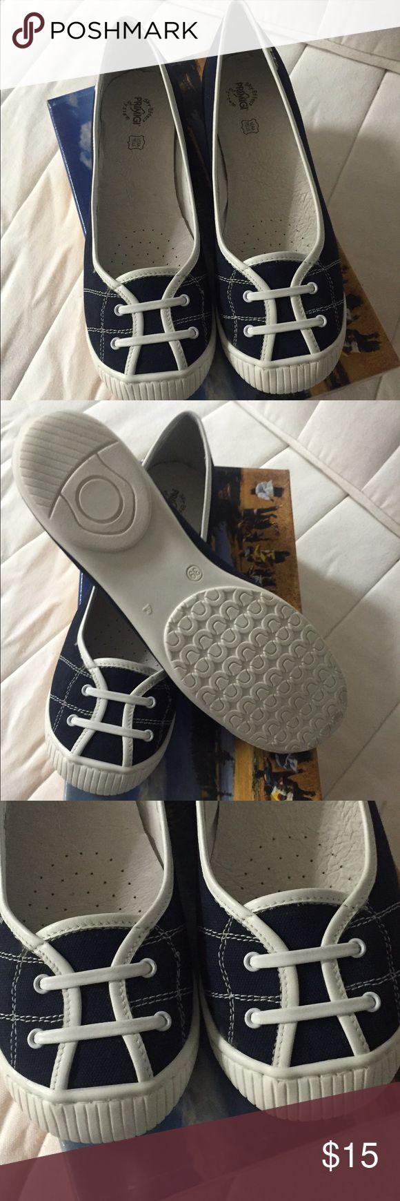 Black flat shoes by Primigi Very comfortable black flat shoes. New in a box Primigi Shoes Flats & Loafers