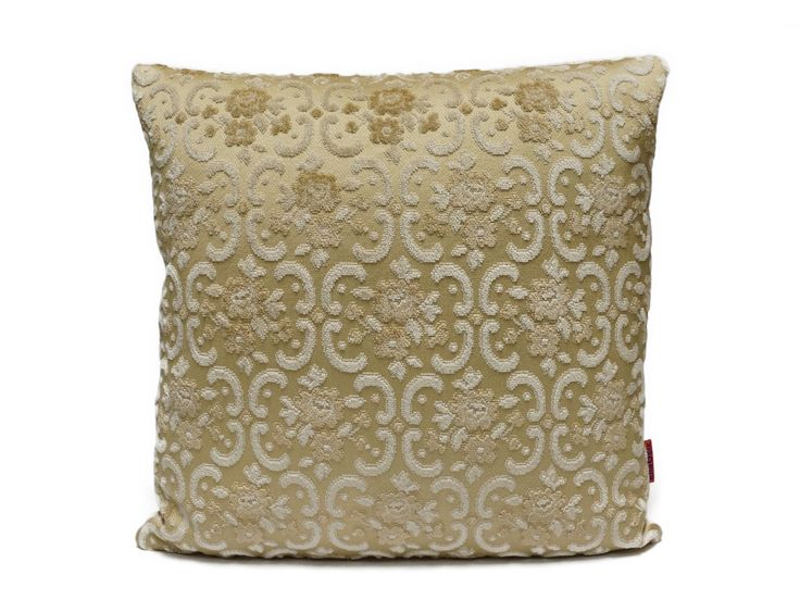 Luxury Couch Pillow 18x18 Cut Velvet Cushion Cover Shabby Chic Handmade From