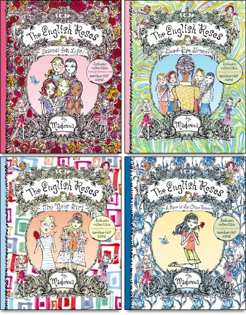 Madonna's book series The English Roses