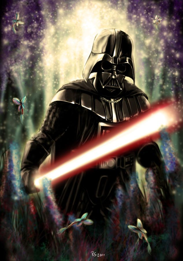 Darth Vader - The Nightmare /by *rhymesyndicate #deviantART #StarWars #art