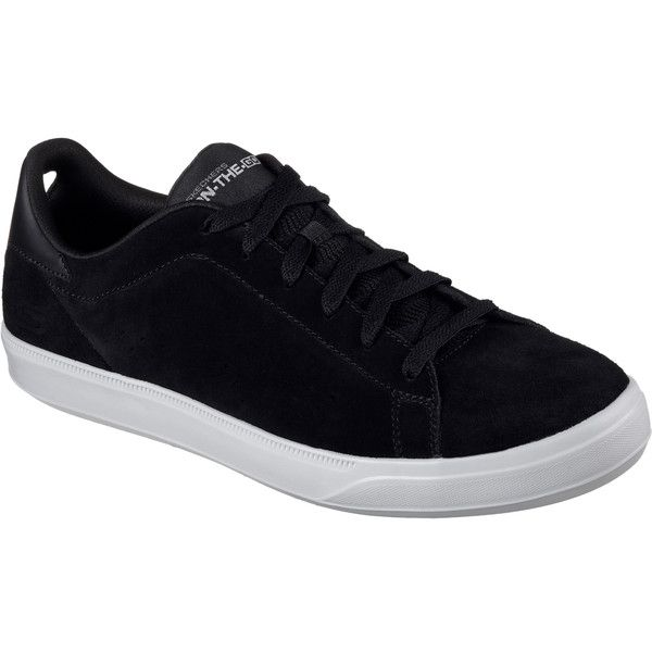 Skechers Men's Skechers Govulc 2 - Point Black - Skechers Performance... (86 CAD) ❤ liked on Polyvore featuring men's fashion, men's shoes, men's sneakers, black, mens black sneakers, mens pointed shoes, mens pointy shoes, skechers mens shoes and mens black shoes