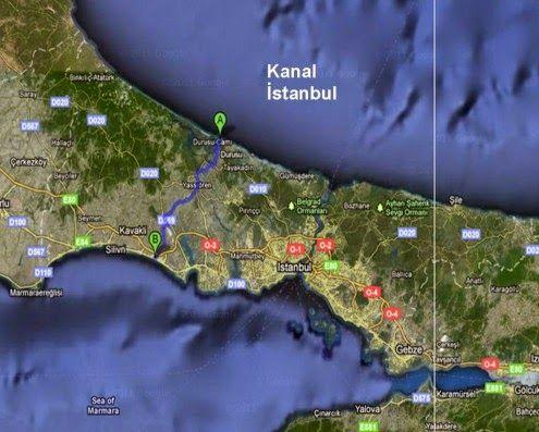 Ετοιμάζεται το νέο Κανάλι της Κωνσταντινούπολης. Θα αποτελέσει αφορμή για το μεγάλο πόλεμο; « Kατοχικά Νέα