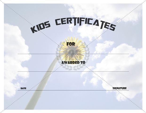 7 best I Appreciate You! images on Pinterest Certificate - sample certificates for kids