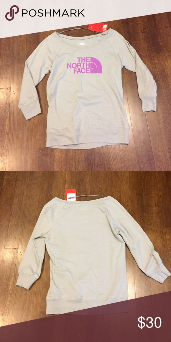The North Face boat neck top The North Face boat neck top with bracelet length sleeves. NWT from non smoking home. The North Face Tops Tees - Long Sleeve