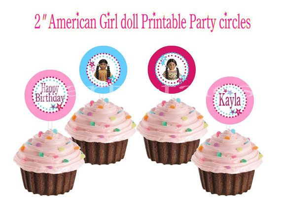 Personalized American girl doll birthday party