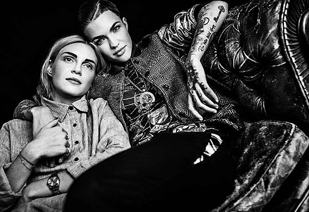 SheWired - Ruby Rose on Fallinge for Her Fiancée Phoebe Dahl