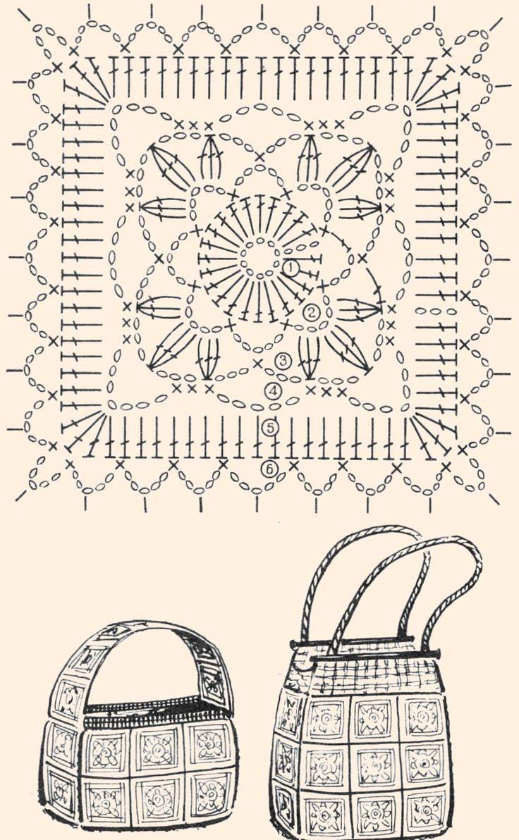 MANY granny squares patterns!!  Пледи. Обсуждение на LiveInternet - Российский Сервис Онлайн-Дневников