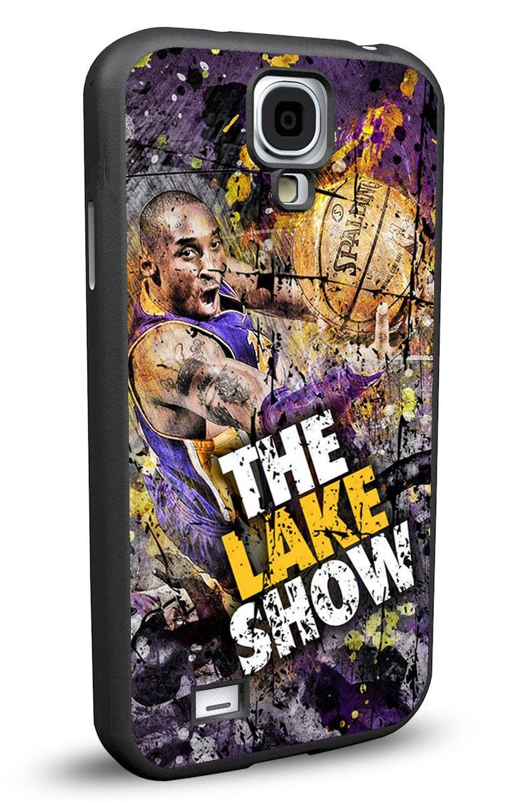 Los Angeles LA Lakers Cell Phone Hard Case for Samsung Galaxy S5, Samsung Galaxy S4 or Samsung Galaxy S4 Mini