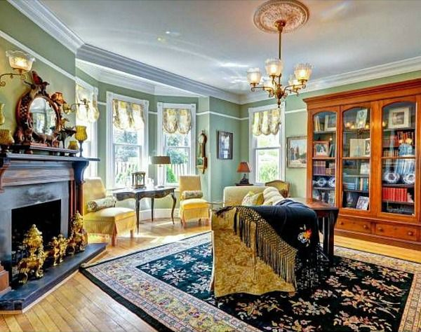 Old House Victorian Living Room